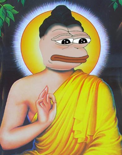 Pepe the Buddha